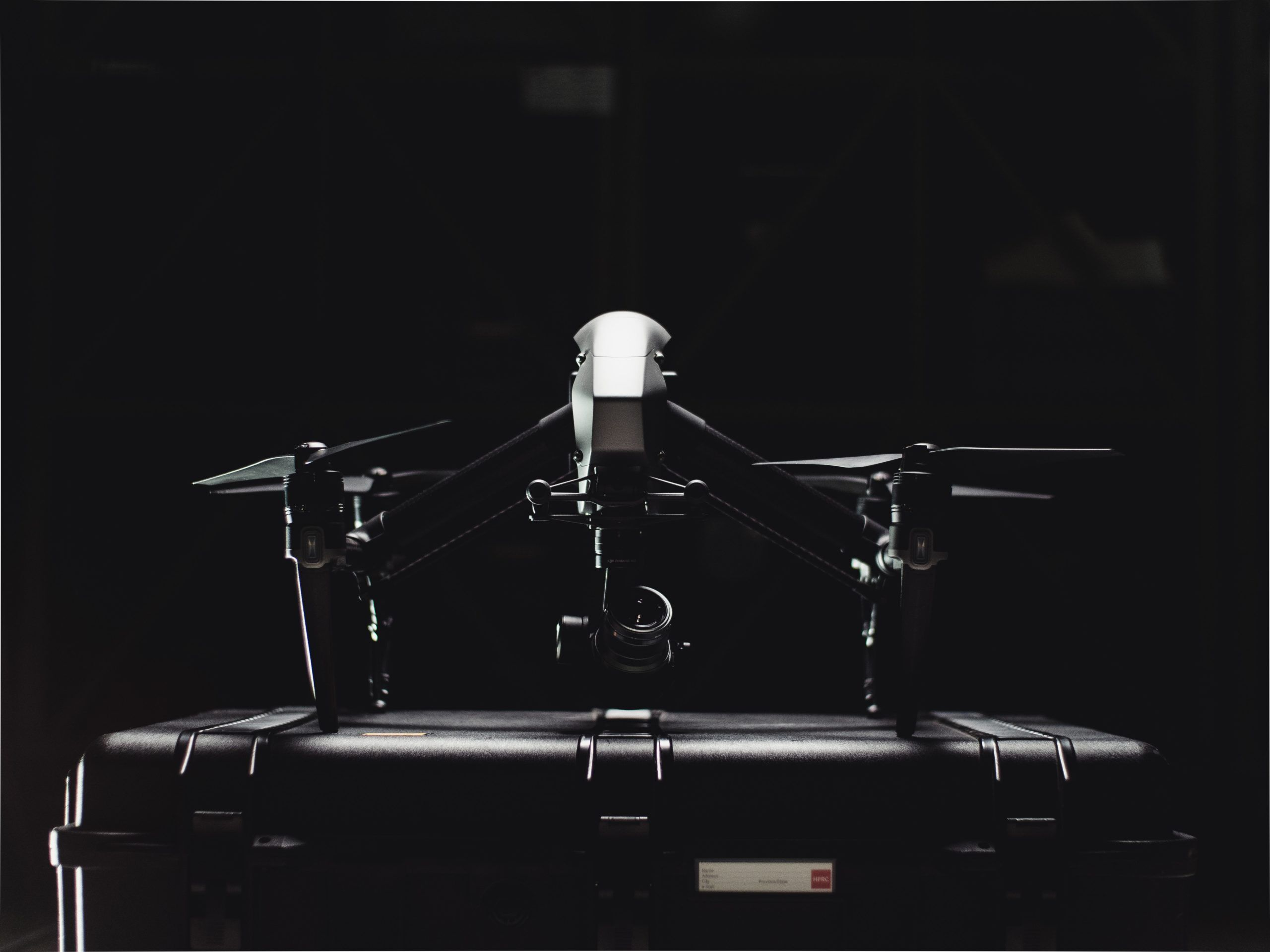 black-and-white-photo-of-drone-2050718